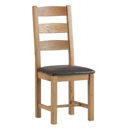 Vale Furnishers - Dorking Slatted Dining Chair. Click for larger image.